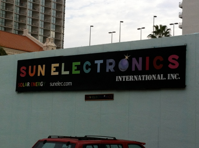 The offices of Sun Electronics